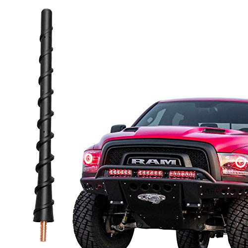 VOFONO 7 inch Spiral Replacement Antenna Mast Compatible with Dodge Ram 1500 &...