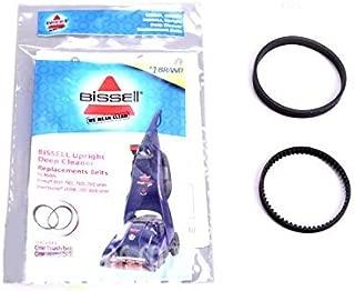 Bissell Proheat Steamer 1 Flat & 1 Geared Belt Set # 6960W