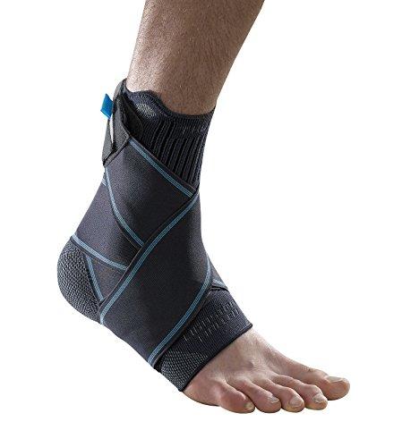Ligastrap Malleo Tobillera – Recomendado para leves cepas de ligamento de tobillo, esguinces de tobillo, laxidad crónica del tobillo (ligamentos sueltos en el tobillo). Tobillera de apoyo de alta calidad disponible en 4 tamaños. 🔥