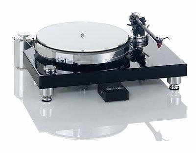 Acoustic Solid - Classic Wood Black Plattenspieler