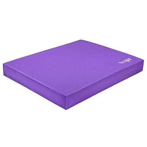 Yes4All Large Purple Balance Pad - 15.5x13.5x2 - ²CAAHZ