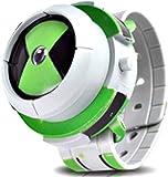 Sweelive Alien Force Omnitrix Illumintator Projector Watch Toy Regalo per Bambini, Projector Watch Kids Orologio da Polso Digitale