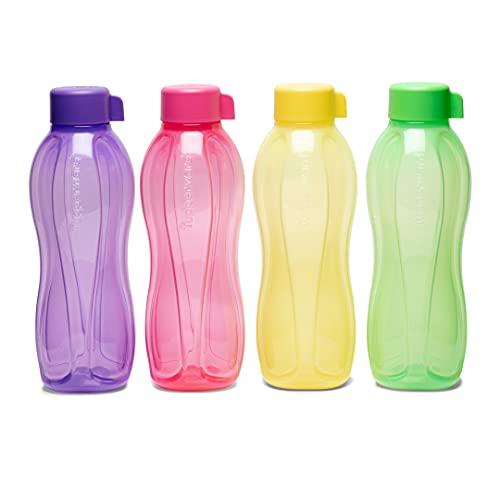 Tupperware Aquasafe - Botella de 1 l (4 unidades)