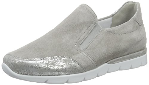 Semler Damen Nelly Slipper, Grau (Perle), 40 EU
