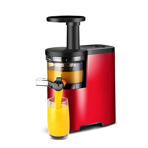 Adesign Juicer Extractor 150W Juicer Máquinas Juicio rápido para Frutas Enteras y Vegetales, función inversa, fácil de Limpiar Altas Prensa en frío nutrientes