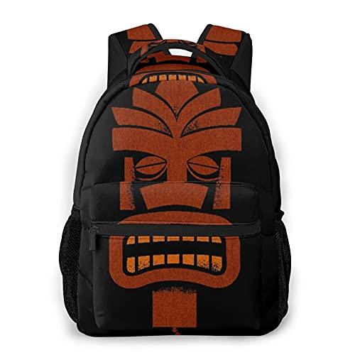 EUlemon Mochila para computadora portátil de viaje,Tiki Bar Hawái,mochila antirrobo resistente al agua para negocios