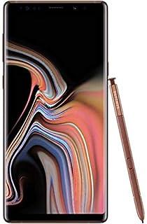 Samsung Galaxy Note 9 Dual SIM - 128GB, 6GB RAM, 4G LTE - Metallic Copper Bronze, International Version