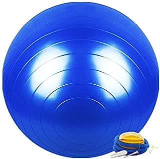Yoga Exercise Ball Gym ball 75cm anti burst -pilates ball in Weight Loss and Dance Pregnant Women Midwifery Bouncy Ball wi...