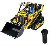 Modbrix Technic Radlader 2,4 Ghz RC Bausteine Delta-Lader, 512 Teile