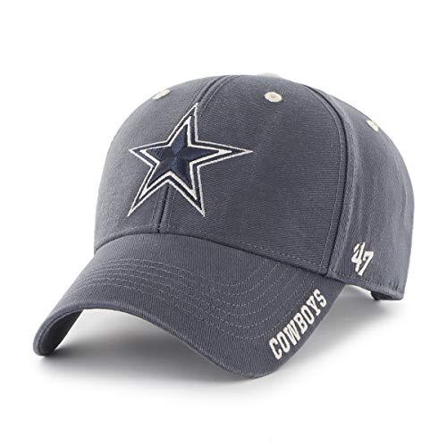 NFL Dallas Cowboys Mens 47 Brand Reign 47 MVP Hat, Navy, OSFA