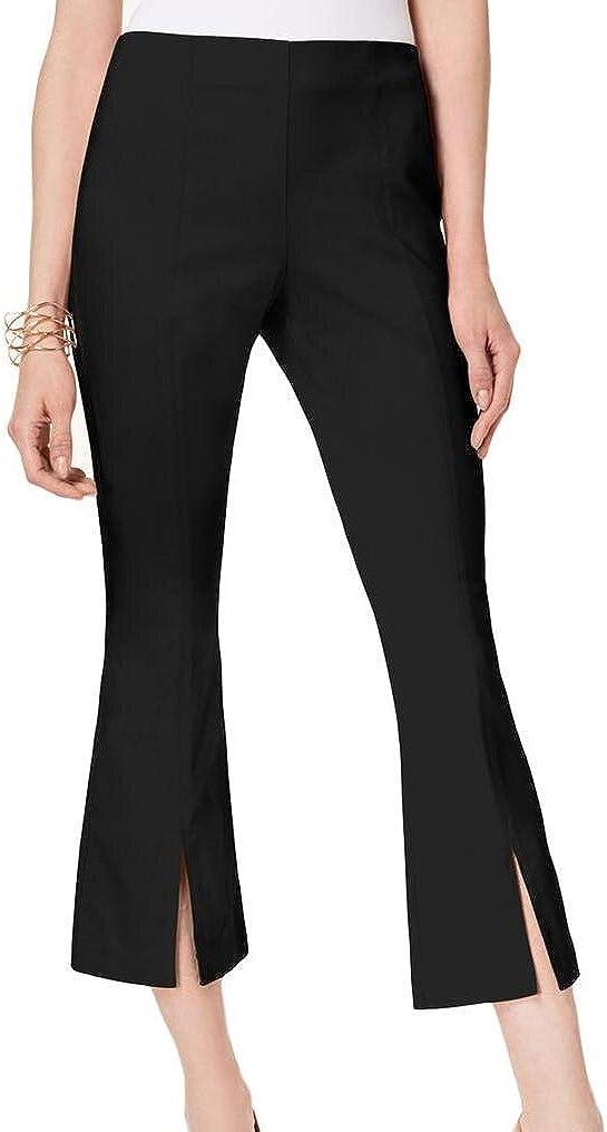 INC International Concepts Womens Cropped Split-Hem Pants