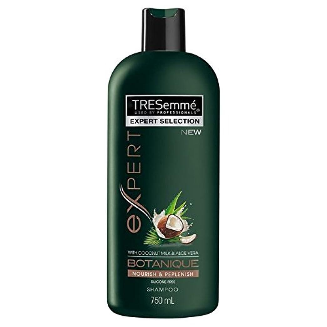 慰め古代共産主義者TRESemme Botanique Nourish & Replenish Shampoo 750ml (Pack of 6) - のボタニックはシャンプー750ミリリットルを養う&補充します x6 [並行輸入品]