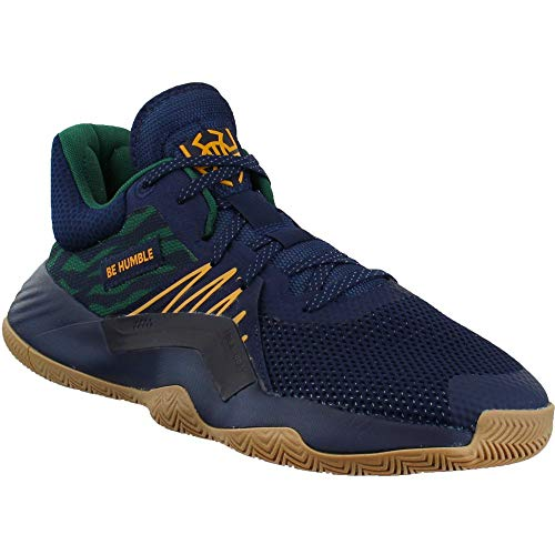 adidas Mens D.O.N. Issue 1 X Donovan Mitchell Basketball Sneakers Shoes Casual - Blue - Size 9 D