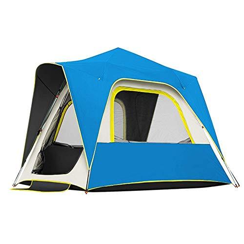 Taoke Wasserdicht Zelte, Outdoor-2 Zelt automatische Doppelschicht Anti verdickten Sturm 8bayfa