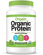 [US Deal] Save on Orgain Organic Plant Based Protein Powder, Natural Unsweetened - Vegan, Low Net Carbs, Non Dairy, Gluten Free, Lactose Free, No Sugar Added, Soy Free, Kosher, Non-GMO, 1.59 Pound. Discount applied in price displayed.