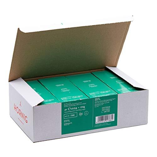 J. Hornig Grüner Tee, 4 x 25 Packung, 100 Teebeutel, Tee im Vorratspack, natürlicher Grüntee ohne zugesetzte Aromen
