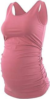 Liu & Qu Maternity Basic Tank Top Mama Clothes Sleeveless...