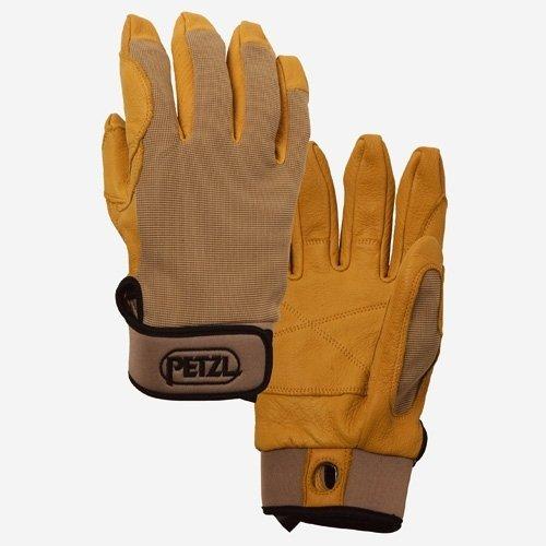 PETZL Cordex Light-Weight Belay & Rappel Gloves (Black or Tan)