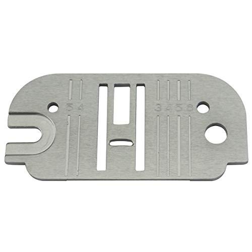 KUNPENG - Ajuste para SINGER Máquina de coser Placa de garganta/placa de aguja # 312391 1piezas