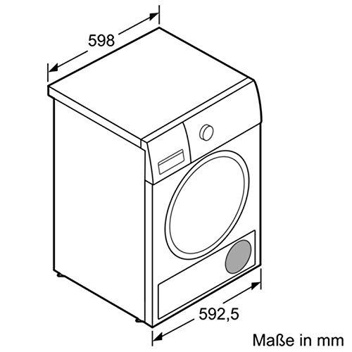 Siemens iQ500 WT46G402 Wärmepumpen-Trockner / 9 kg / B / 616 kWh / AutoDry Funktion - Feuchtegesteuerte Trocknungsprogramme / speedPack für schnelle Trocknungszeiten / Outdoor Programm - 2