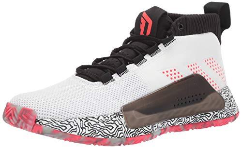 adidas Men's Dame 5, Grey/Black/Grey, 13 M US