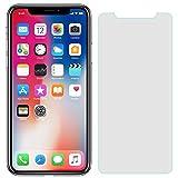 Hanye iPhone 11 Pro/iPhone X/XS用液晶保護強化ガラスフィルム スマートフォン ガラスフィルム 硬度9H 超薄0.33mm 2.5D ラウンドエッジ加工 (iPhone X/iPhone 11 Pro)