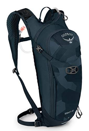 Osprey Siskin 8 Trinkrucksack für Männer, mit Hydraulics™ LT 2,5-Liter-Trinkblase - Slate Blue (O/S)