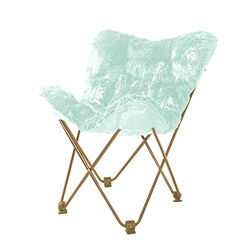 Urban Shop Mongolian Butterfly Chair, Mint