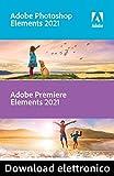Adobe Photoshop & Premiere Elements 2021 | 1 Usuario | PC | Código de activación PC enviado por email