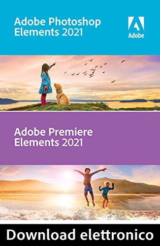 Adobe Photoshop & Premiere Elements 2021 | 1 Usuario | Mac | Código de activación Mac enviado por email