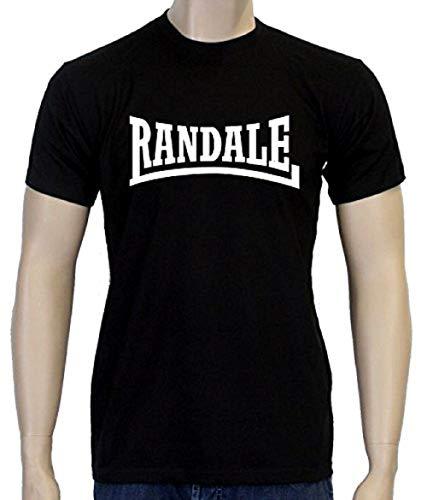 Coole Fun T-Shirts Randale Tshirt Fightclub, schwarz/Weiss, Grösse: M
