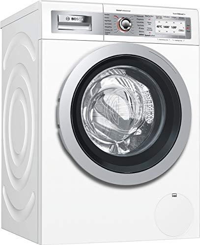 Bosch WAY287W5 HomeProfessional Waschmaschine Frontlader / A+++ / 89 kWh/Jahr / 1318 UpM / 8 kg / Weiß / Fleckenautomatik Plus / Trommelreinigung mit Erinnerungsfunktion