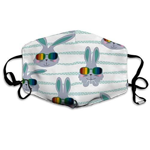 Pañuelo unisex reutilizable para la cabeza, bandanas faciales, bufanda para hombre y mujer, bufanda para la boca lavable, decoraciones faciales antipolvo, gafas de sol gris de verano