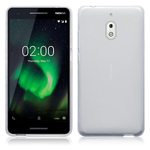 TERRAPIN, Kompatibel mit Nokia 2.1 Hülle, TPU Schutzhülle Tasche Hülle Cover - Transparent