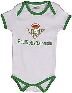 Real Betis Balompié Bodbet Body, Infantil, Multicolor (Verde/Blanco), 09