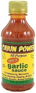 Cajun Power All-Purpose Spicy Garlic Sauce,8 oz.