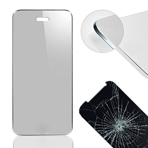 Eximmobile Panzerfolie Schutzfolie 9H Glas Folie Echt Glasfolie Bildschirmschutzfolie Folie für Huawei Ascend G730 - klar