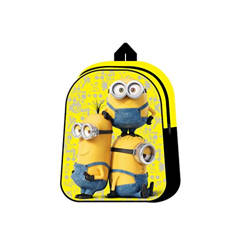 Fancy Official Minions Buddies Junior Premium Backpack School Bag Rucksack