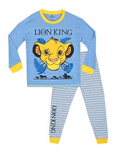 Disney Pijamas Manga Larga niños Lion King Azul 2-3