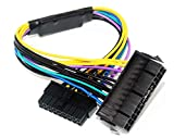 BLUEXIN 24 Pin to 18 Pin ATX PSU Power Adapter Cable for HP Z420/Z620...