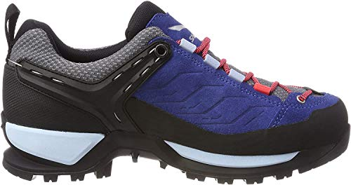 Salewa Damen WS Mountain Trainer Gore-TEX Trekking-& Wanderstiefel, Dark Denim/Papavero, 40.5 EU