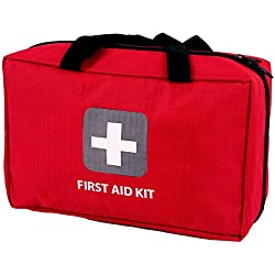 First Aid Kit – 291 Pieces – Bag. Packed with Hospital Grade...