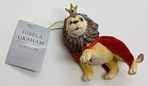 Gisela Graham Lion con mantello da The Wizard of Oz Collection