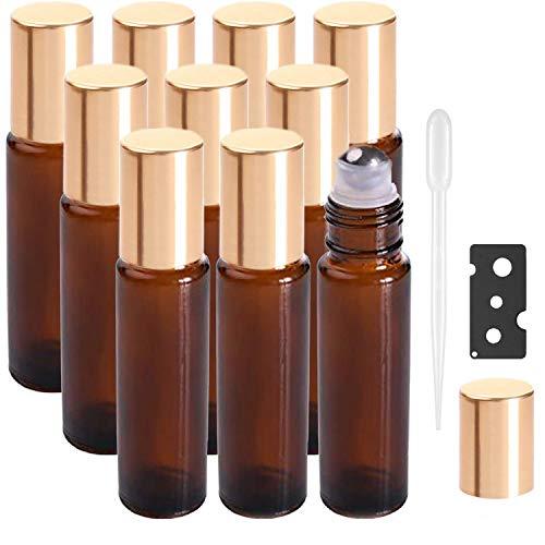 Botellas Roll On para Aceites Esenciales (Tonos de Atardecer