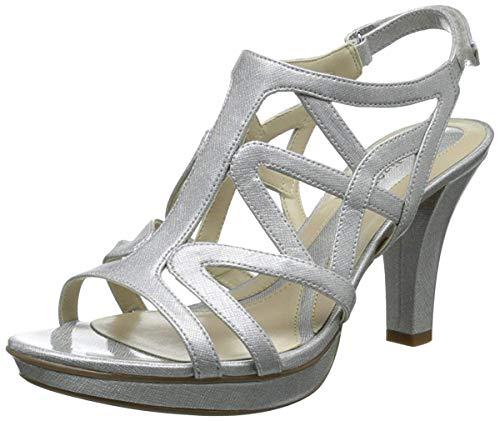 Naturalizer Women's Danya Dress Sandal,Silver,6 M US