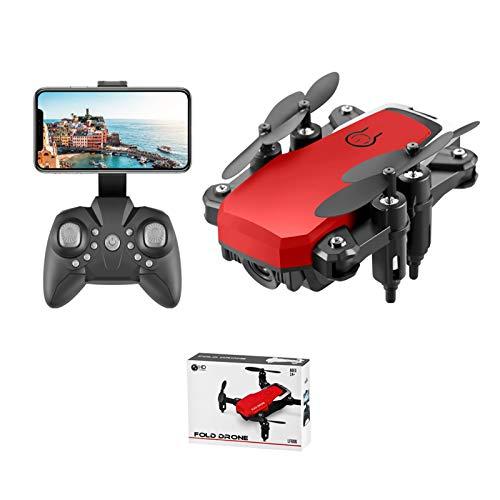 Drone plegable LF606 con cámara 4K HD para adultos, video en vivo WIFI FPV, cuadricóptero RC con tiempo de vuelo prolongado, control de voz, control de gestos, retención de altitud, modo sin cabeza