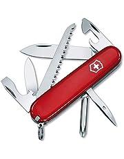 Victorinox Zakmes Hiker (13 functies, houtzaag, Phillips-schroevendraaier, tandenstoker) rood