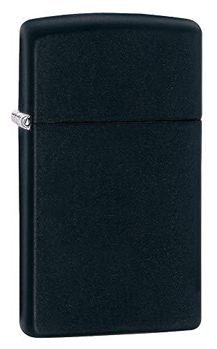 Zippo Lighter Slim Black Matte 1618 Taille Unique