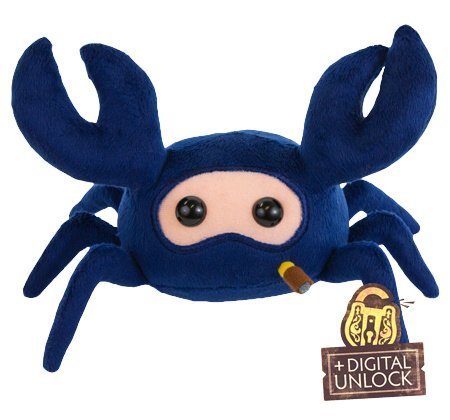 TEAM FORTRESS 2 BLU SPYCRAB PLUSH by Valve