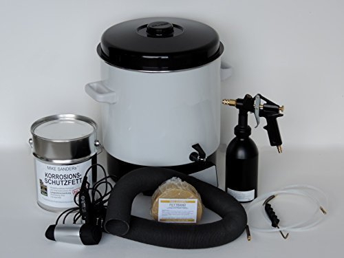 Preisvergleich Produktbild Mike Sanders Verarbeitungs Set mit 4 kg Mike Sander Korrosionsschutzfett